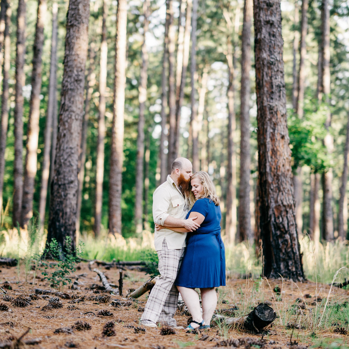 Kathy+Jonah_DukeForestPortraitSession-16