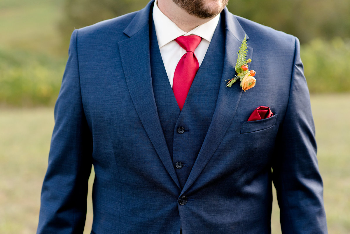 groom suit details