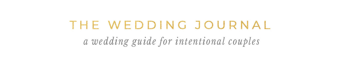 The Wedding Journal Website Logo
