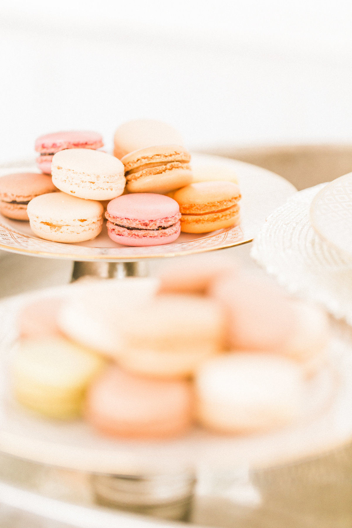 French Macaron Food Photography