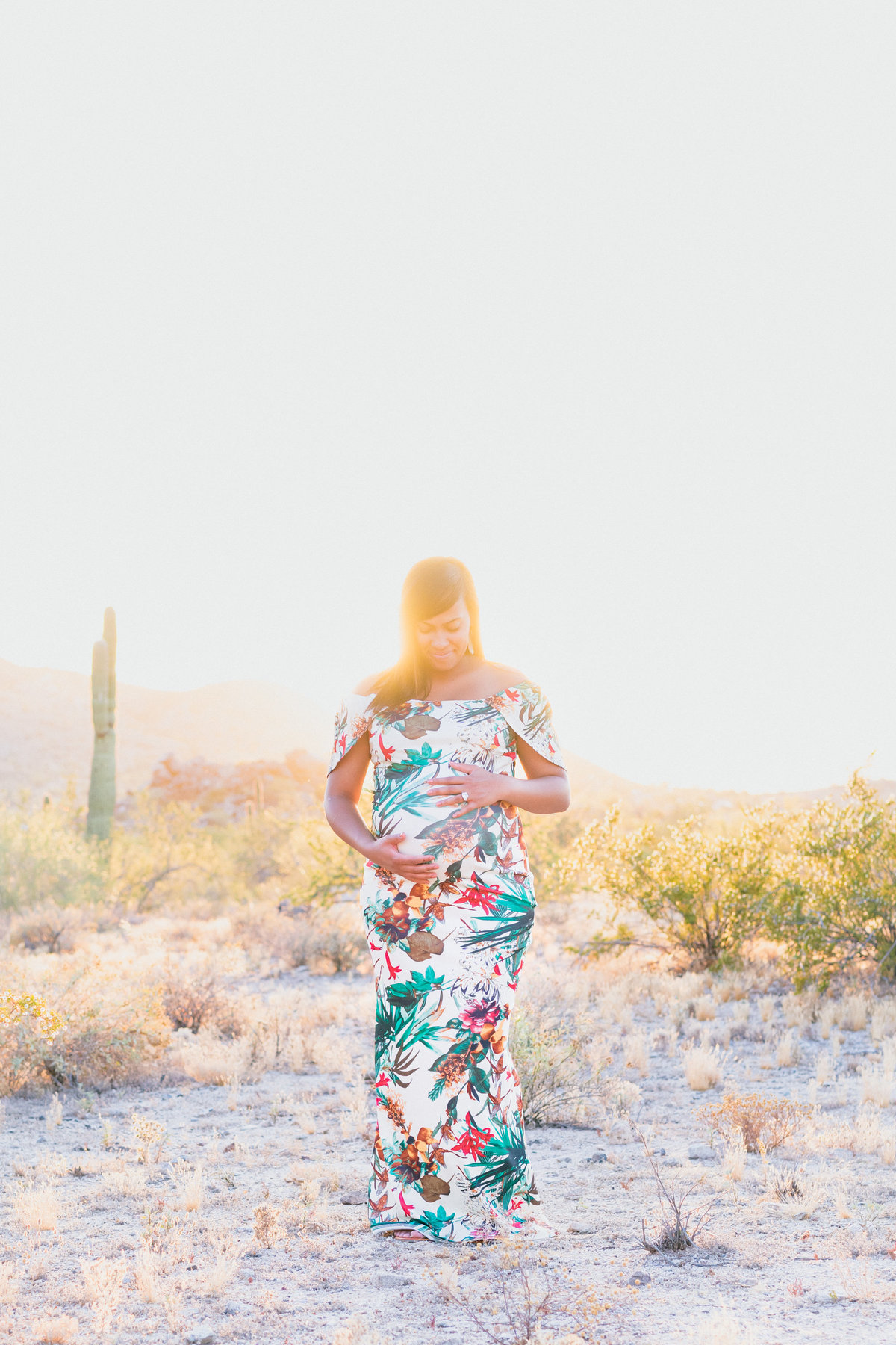 Atlas Rose Photography AZ The Russell Family Maternity Experience At South Mountain 71
