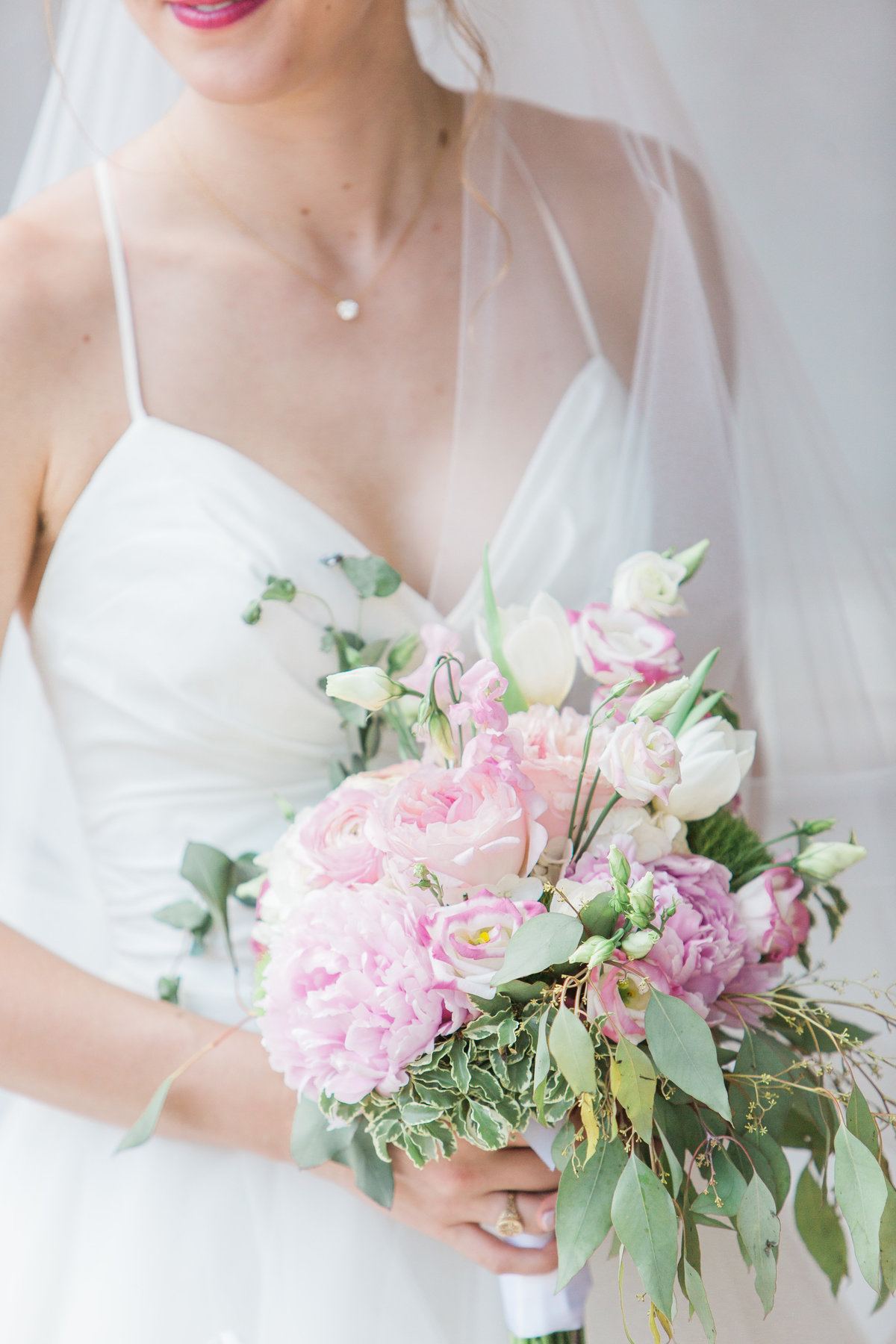 Basilica of the Sacred Heart Bridal Bouquet Photo