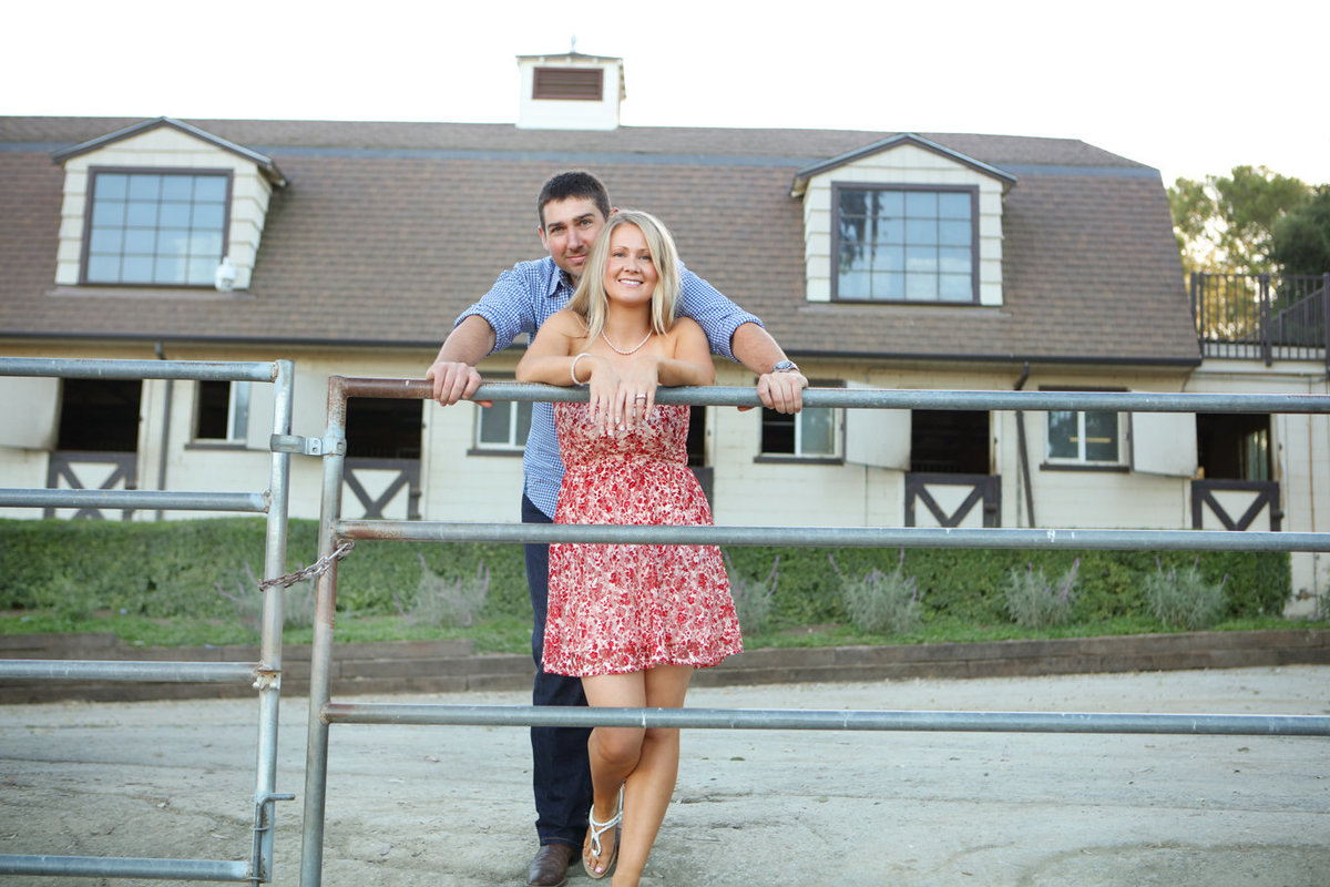 Los Altos Hills Westwind Community Barn Engagement Photos
