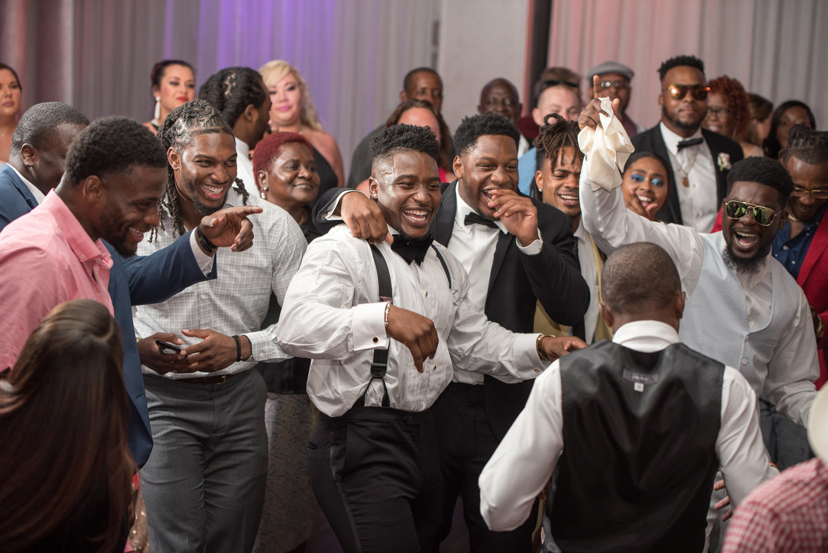 NFL Miami Dolphins Brandon Radcliff ShaKyra Radcliff Briza on the Bay Wedding Andrea Arostegui Photography-299