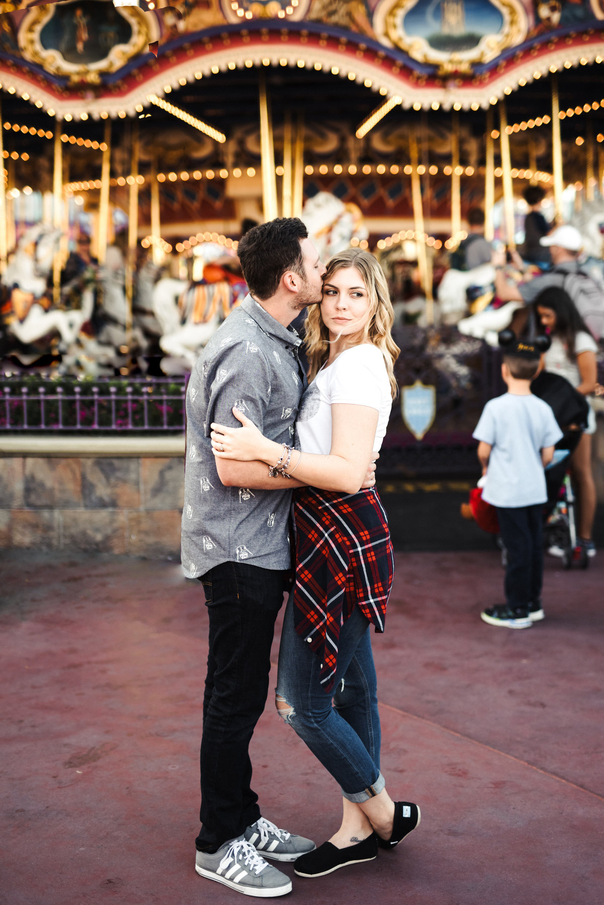 Ally & Brett's Disney Engagement Session (185 of 243)