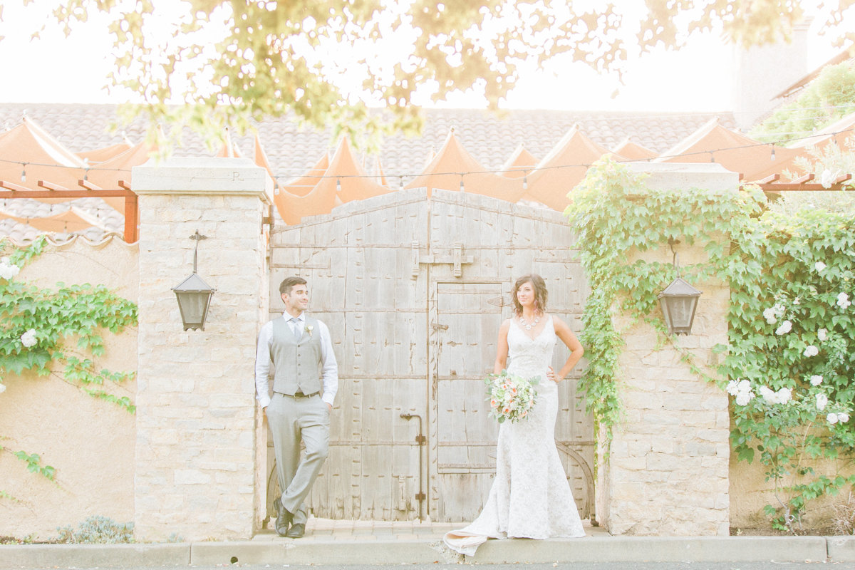 Evonne and Darren Wine Country Wedding Photography