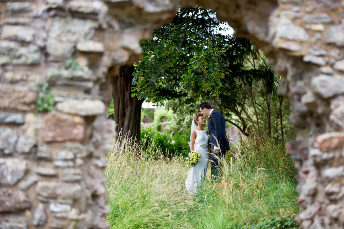 torre abbey ruins torquay wedding