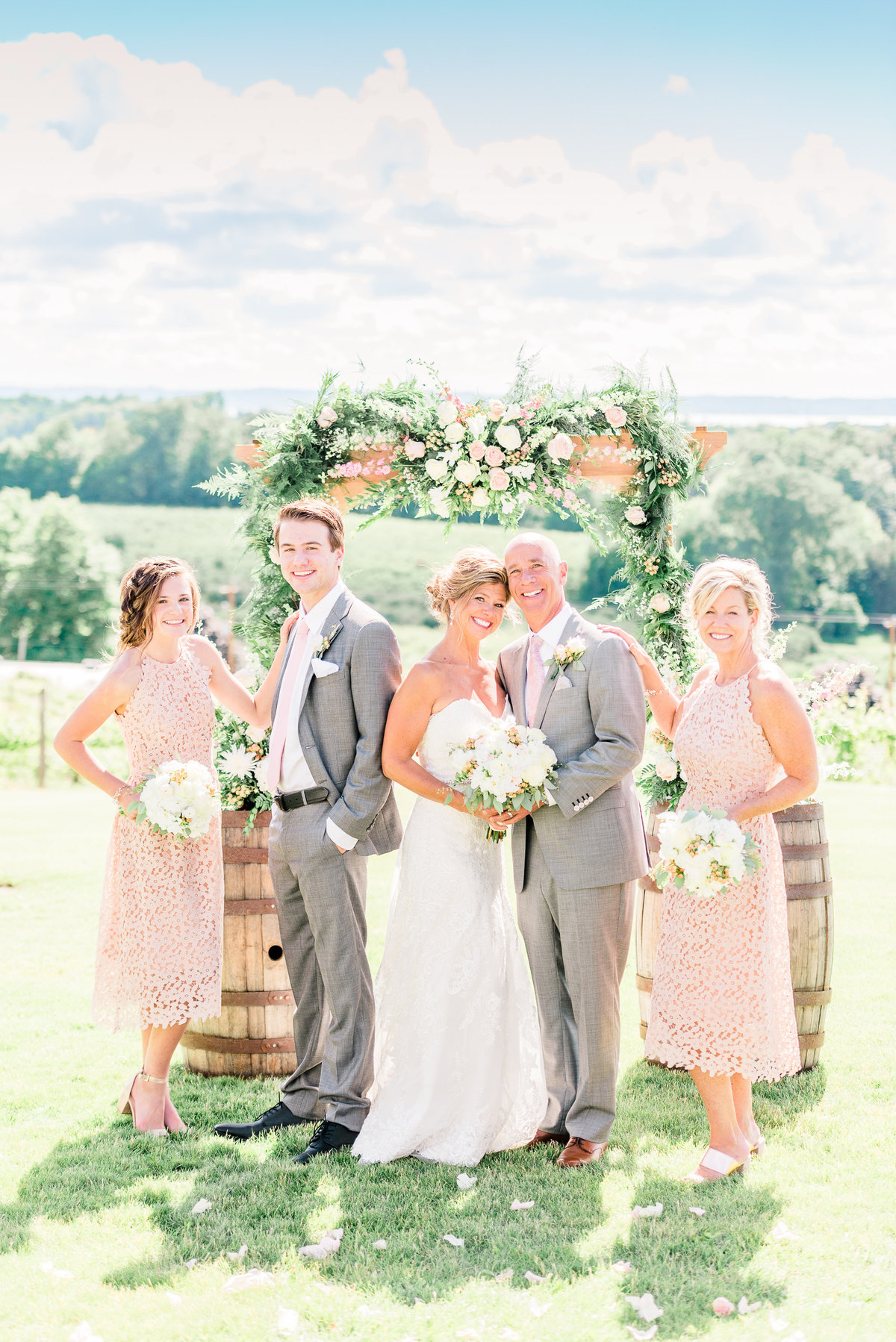 chateau chantal winery wedding photographers traverse city