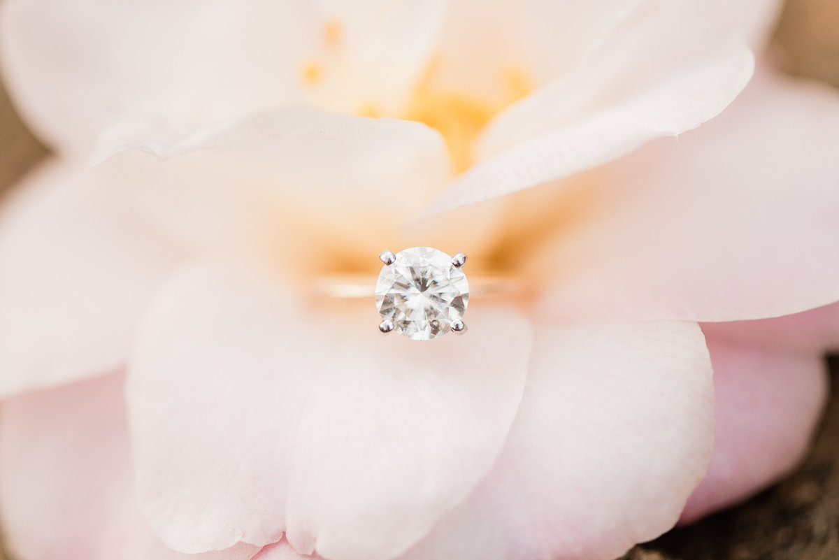 solitaire engagement ring photo