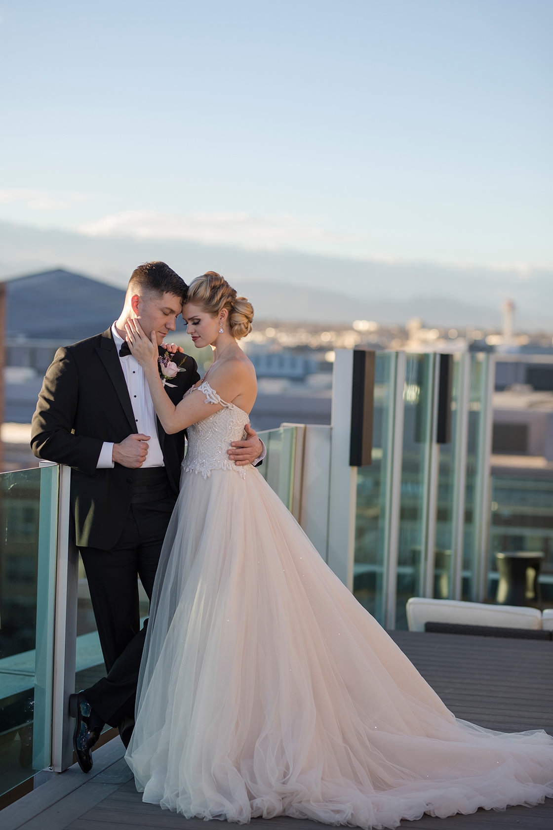 Denver Skyline City Wedding -1092