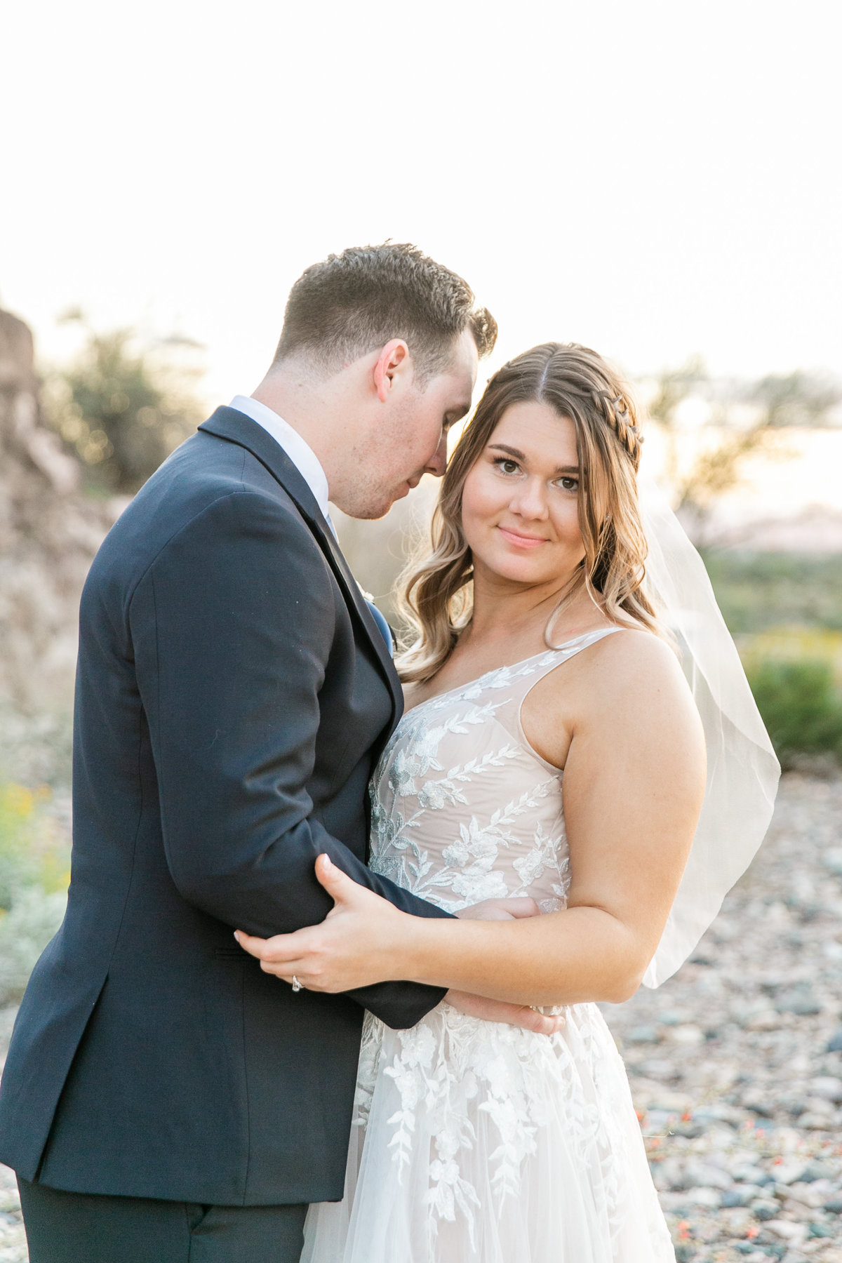 Karlie Colleen Photography - Arizona Backyard wedding - Brittney & Josh-235