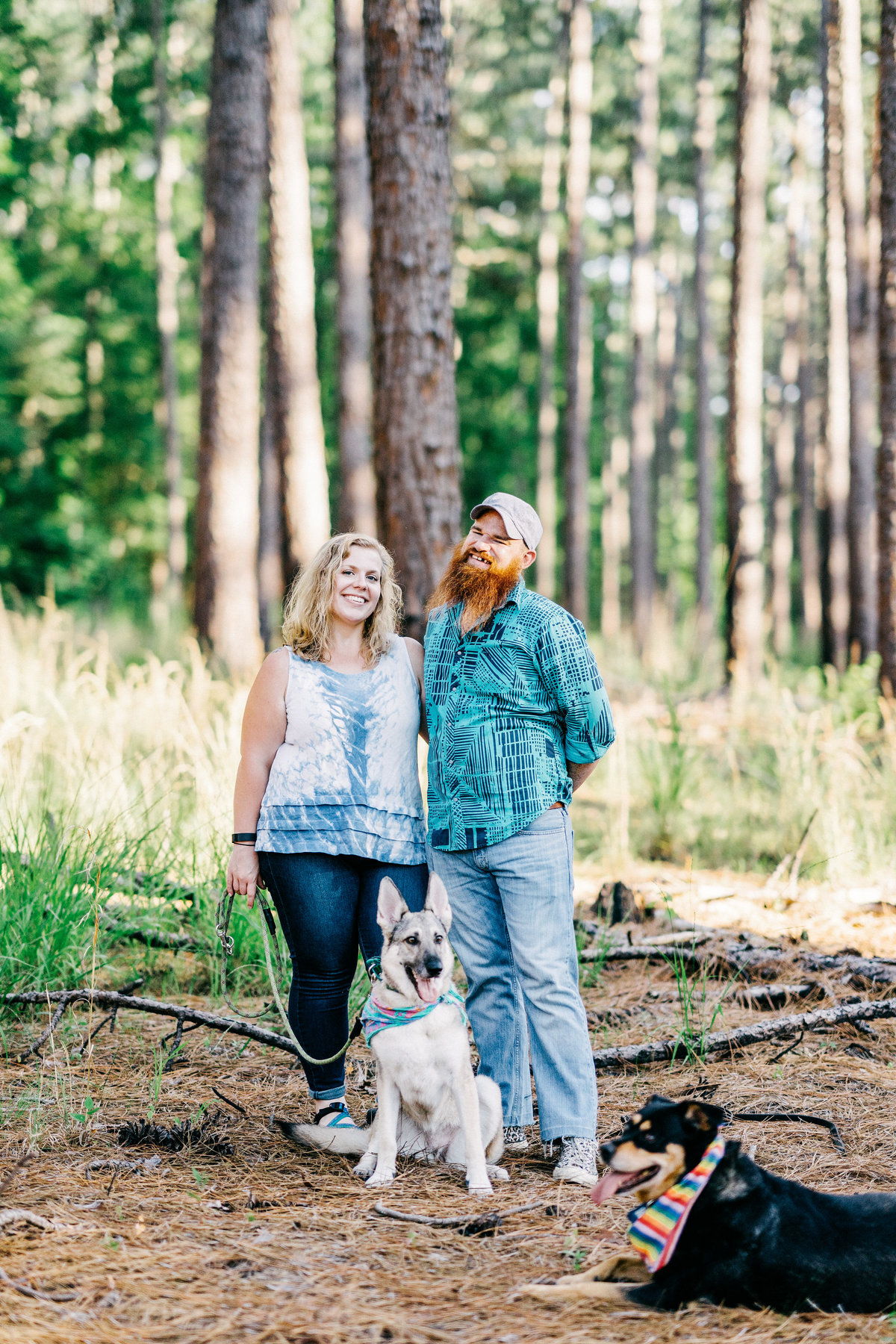 Kathy+Jonah_DukeForestPortraitSession-9