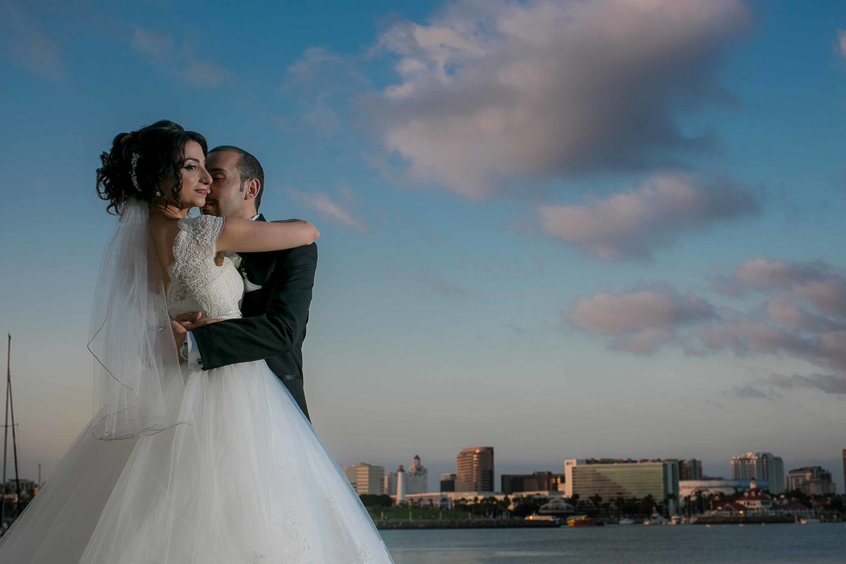 Wedding Portraits In Long Beach_