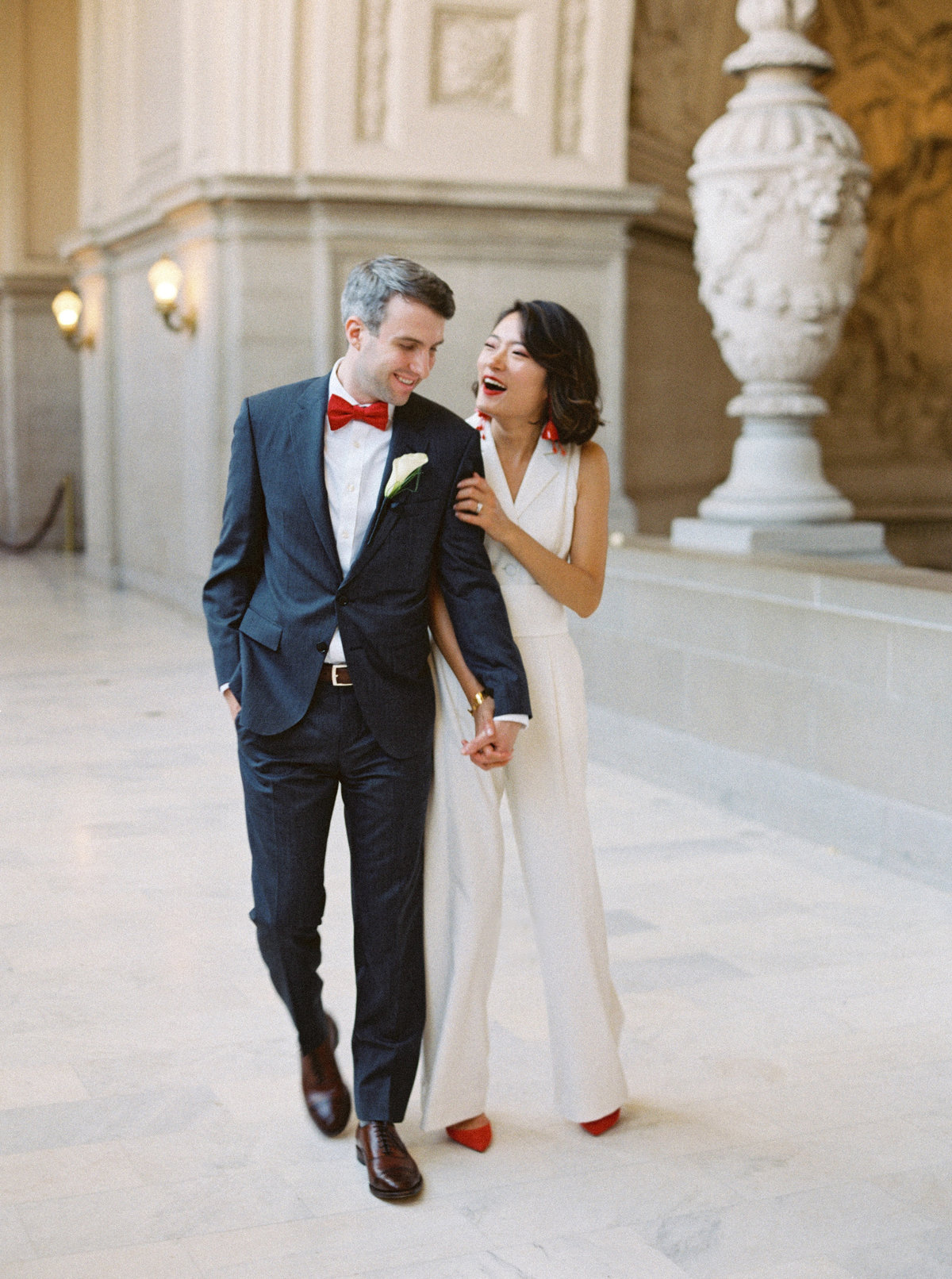 Judy + Greg San Francisco City Hall Wedding - Cassie Valente Photography 0020