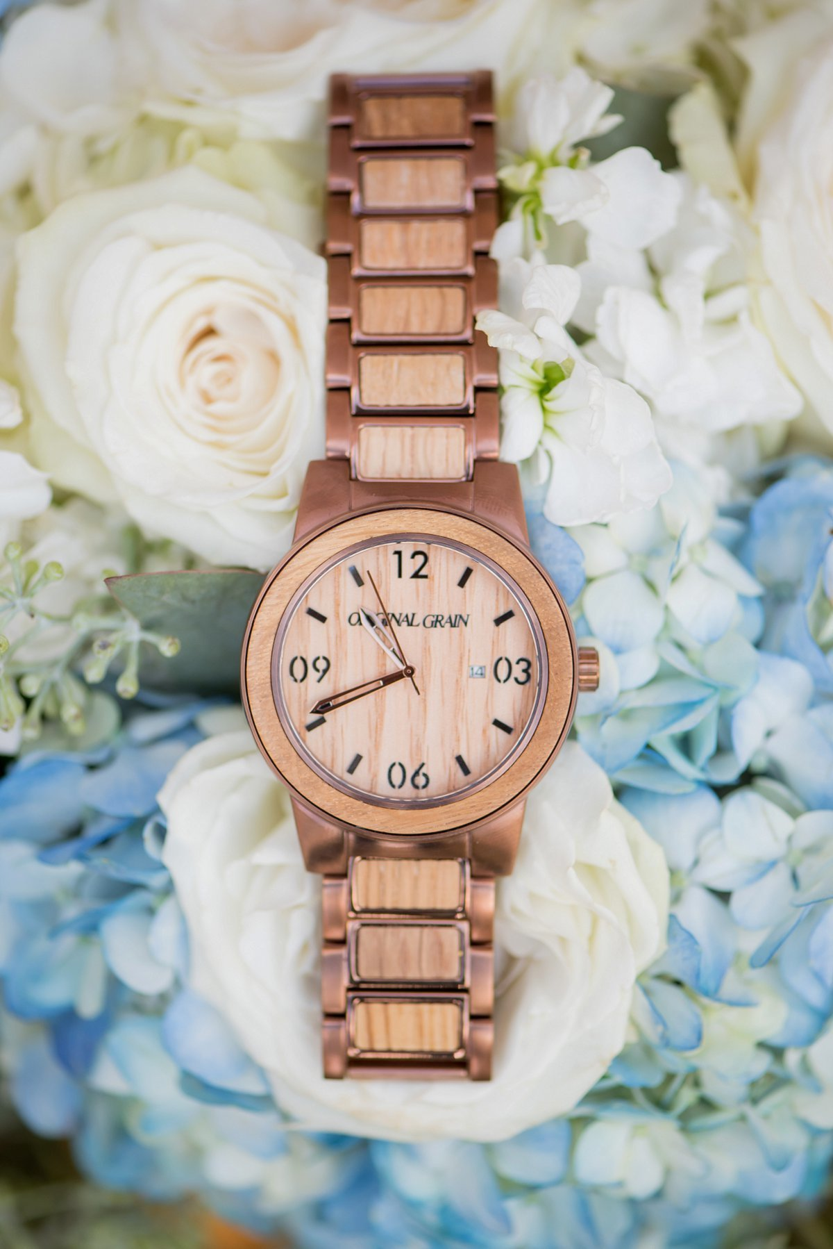 Wooden watch groom gift photography by Kris Kandel