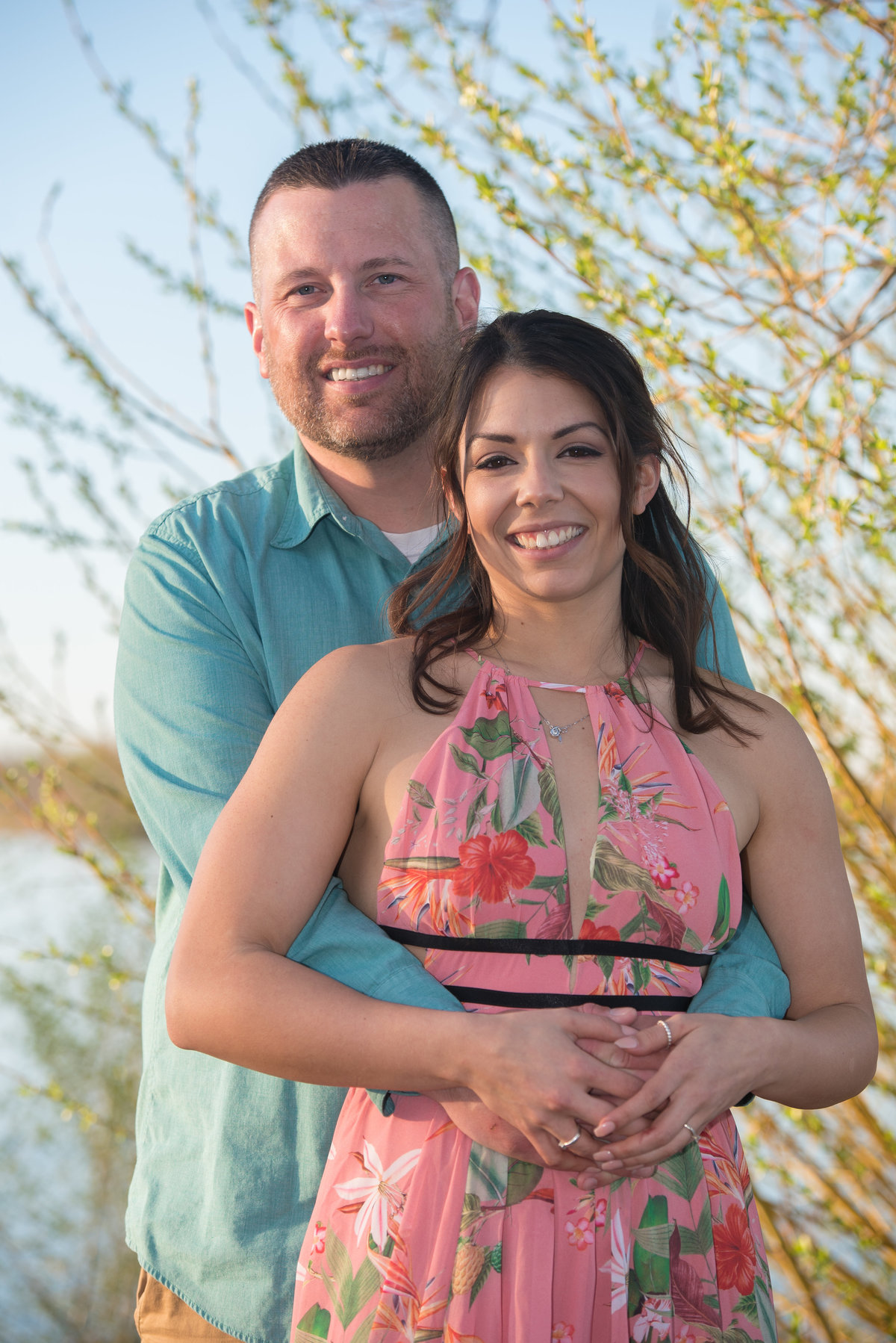 Riverfront Park, Coxsackie, NY, Spring engagement session