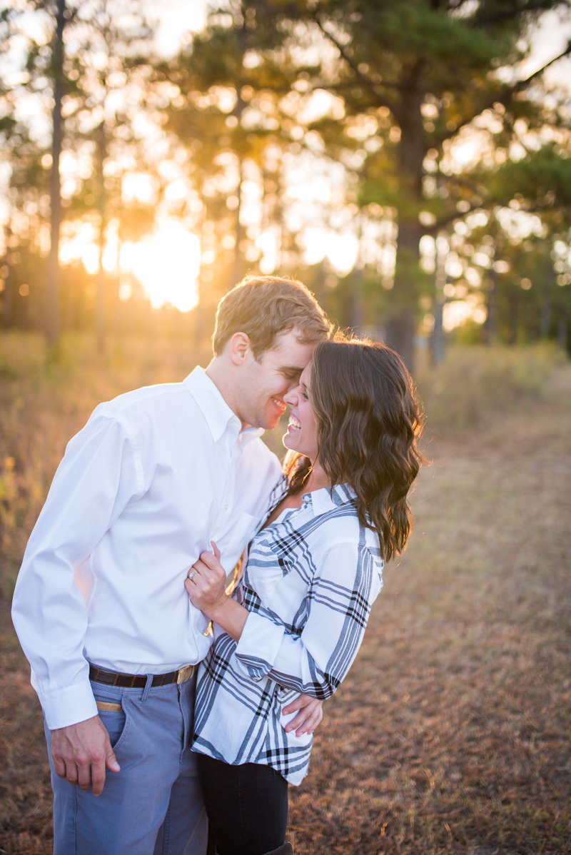 Sunset Engagement Session by Georgia Wedding Photographer Eliza Morrill-22