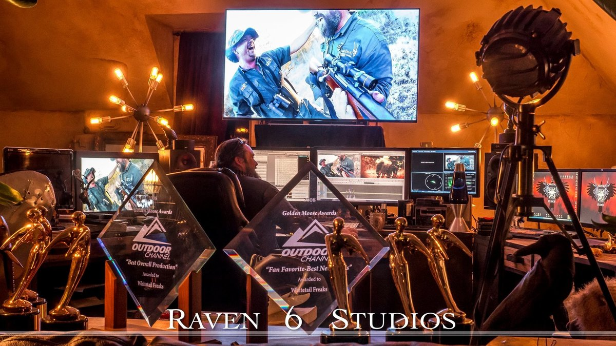 Jason Miller Raven 6 Studios editing outdoor television productions