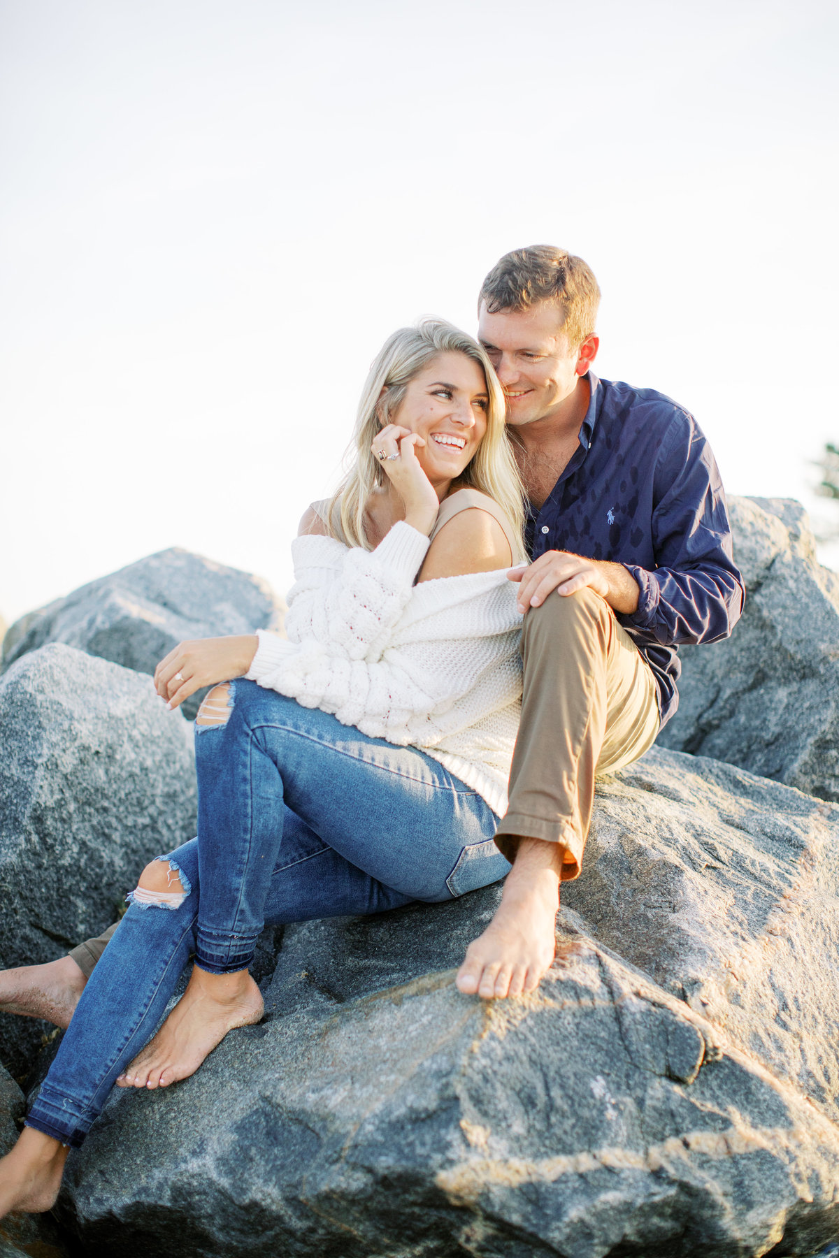 cape henlopen engagement photos11