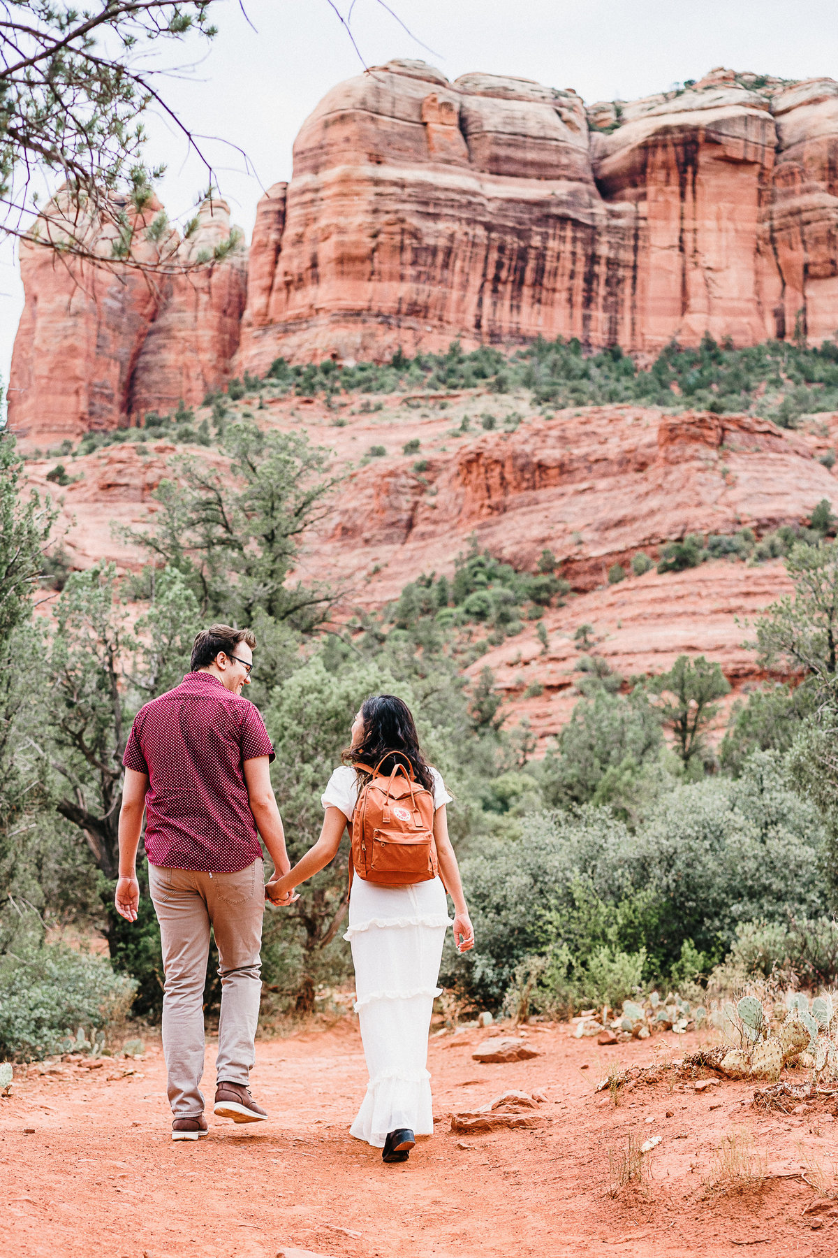 Atlas Rose Photography AZ Kat And Cam Sedona Adventure Engagment Experience 02
