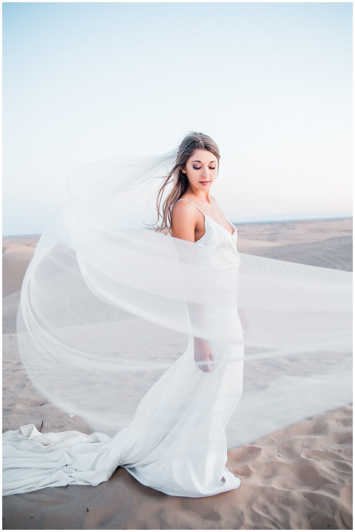 Glamis Desert Bohemian Wedding Styled elopement southern california sand dunes photo057