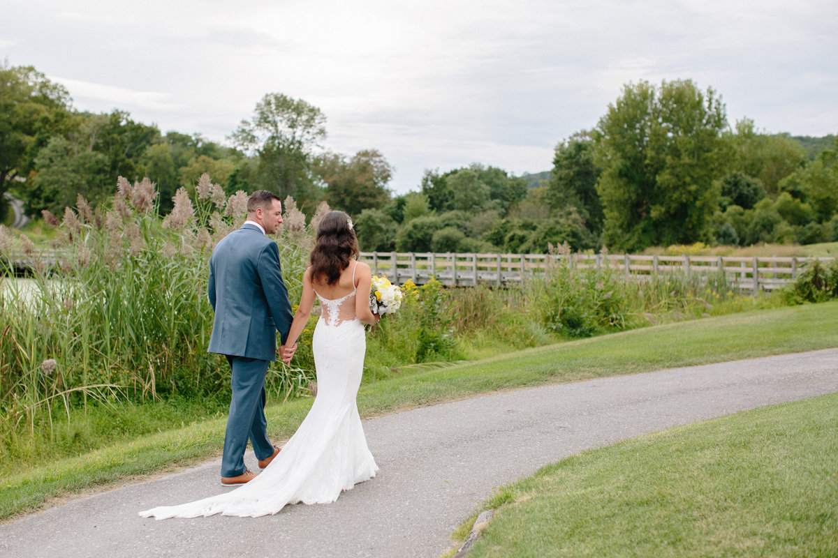 Bride and groom portraits Westchester wedding photographer