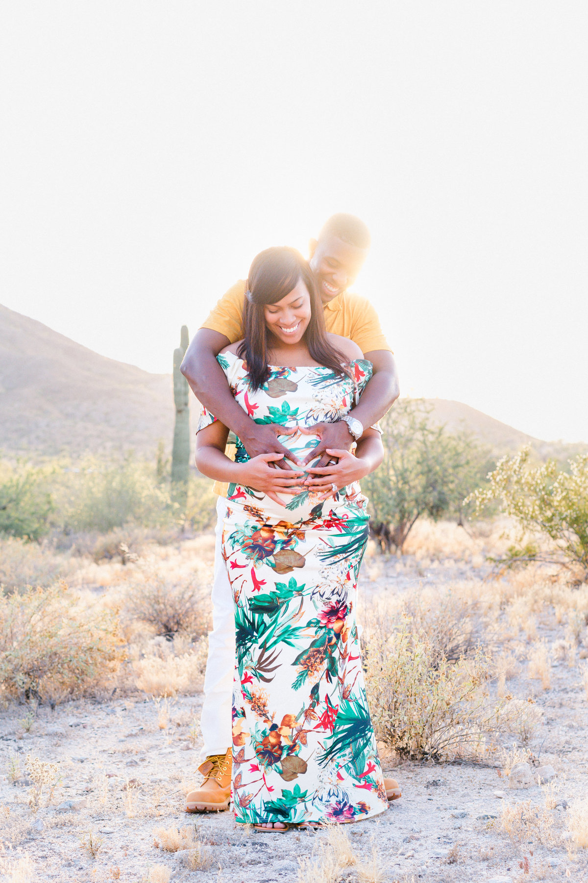 Atlas Rose Photography AZ The Russell Family Maternity Experience At South Mountain 43