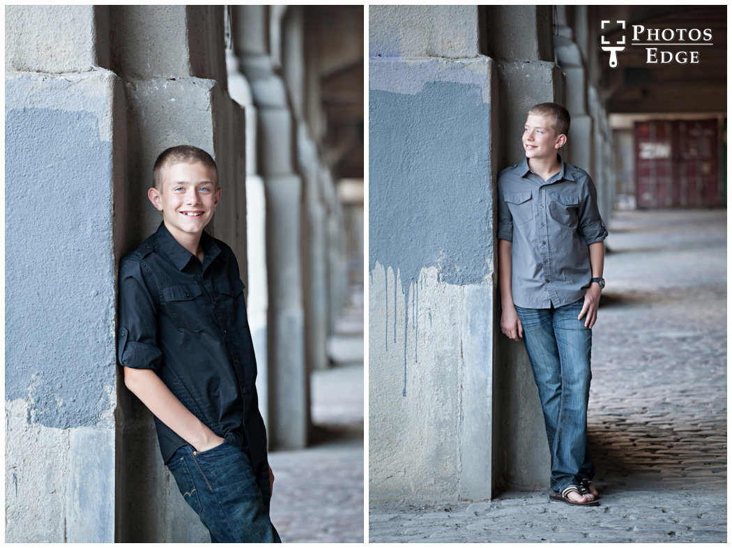 sibling portraits in Kansas City