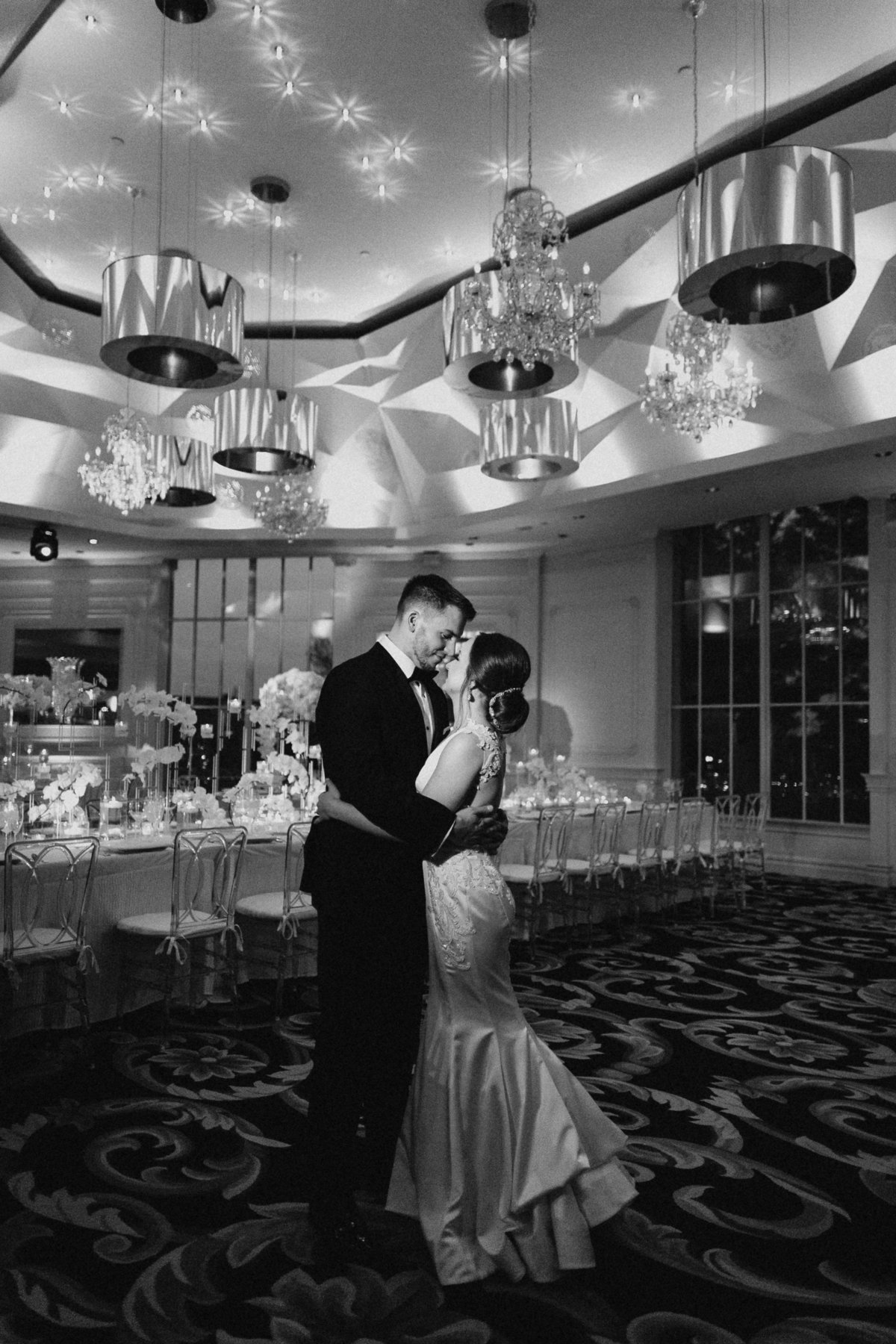 Westmount Country Club white modern New Jersey wedding 32