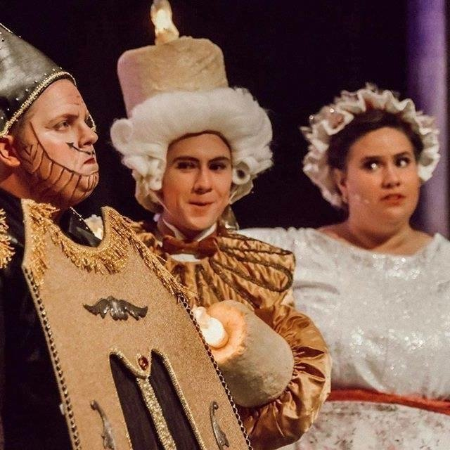 Beauty & the Beast Cogsworth & Lumiere & Mrs. Potts | Beka Hardt
