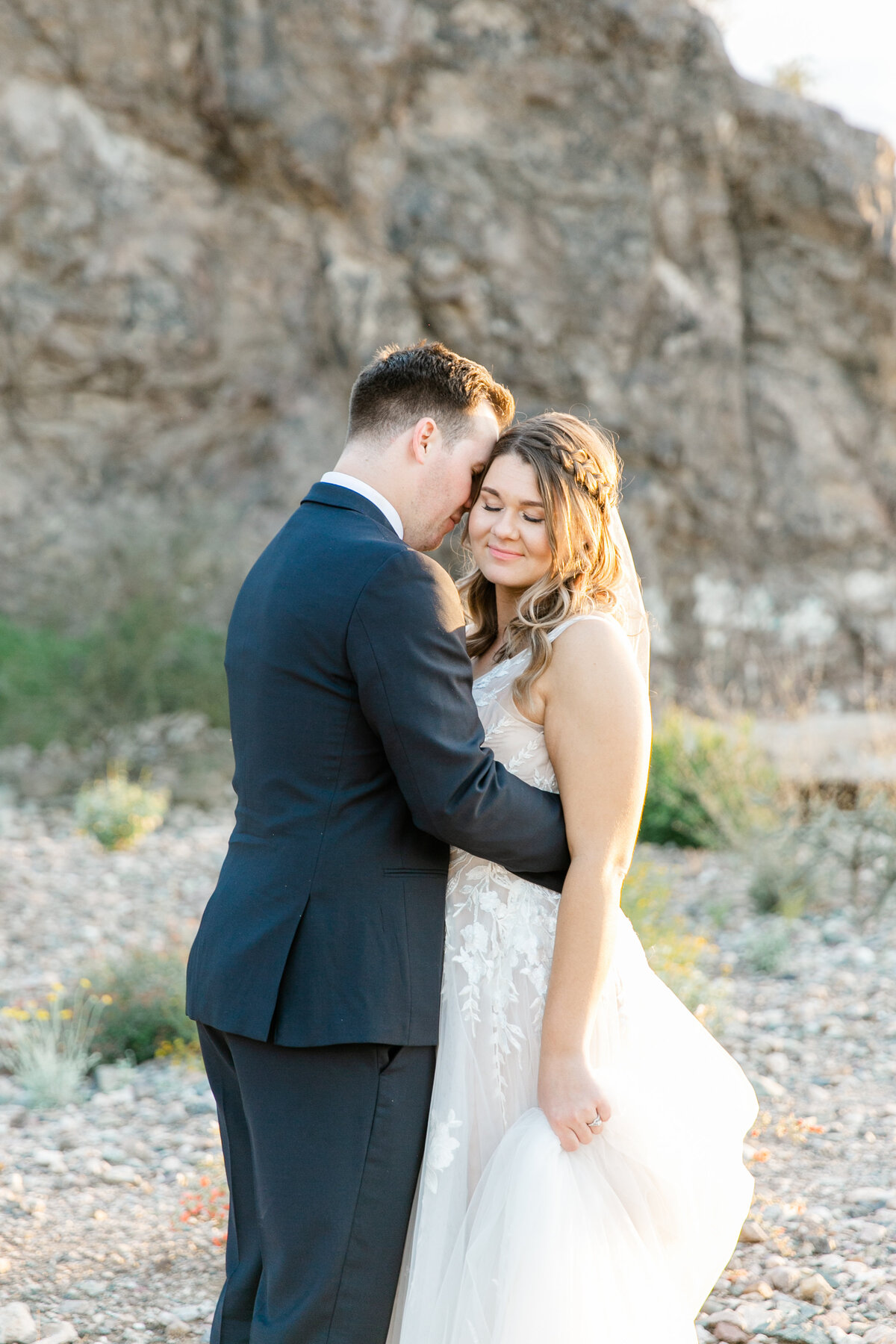 Karlie Colleen Photography - Arizona Backyard wedding - Brittney & Josh-208