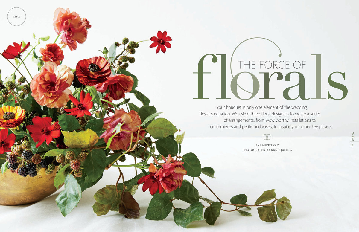 Sarah Kay Love Featured Work Flower Editorials