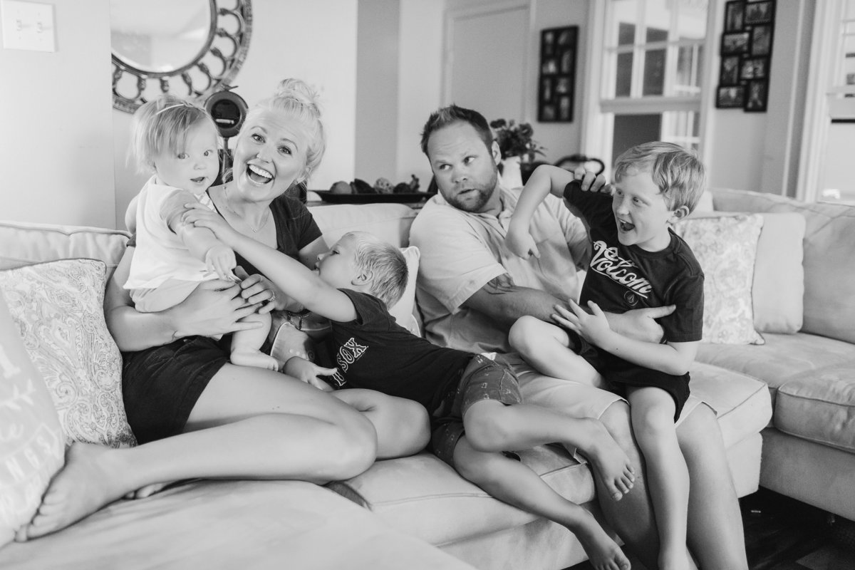 Lifestyle Family Session by Brooke Tucker Photography