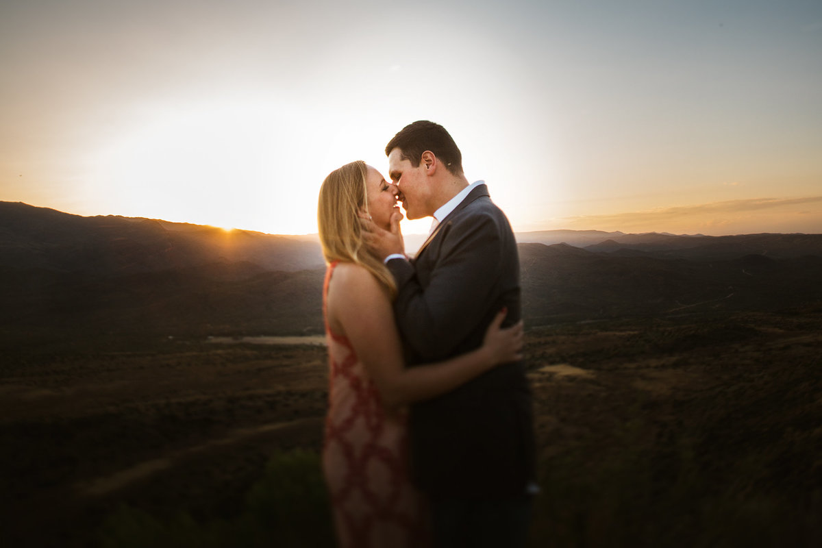 Engagement Session at Sunset Point, Black Canyon City