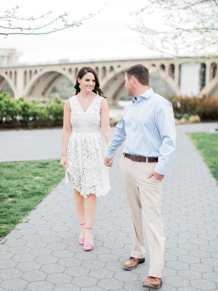 Rebekah Emily Photography Washington DC Photographer Georgetown Engagement Session_0018