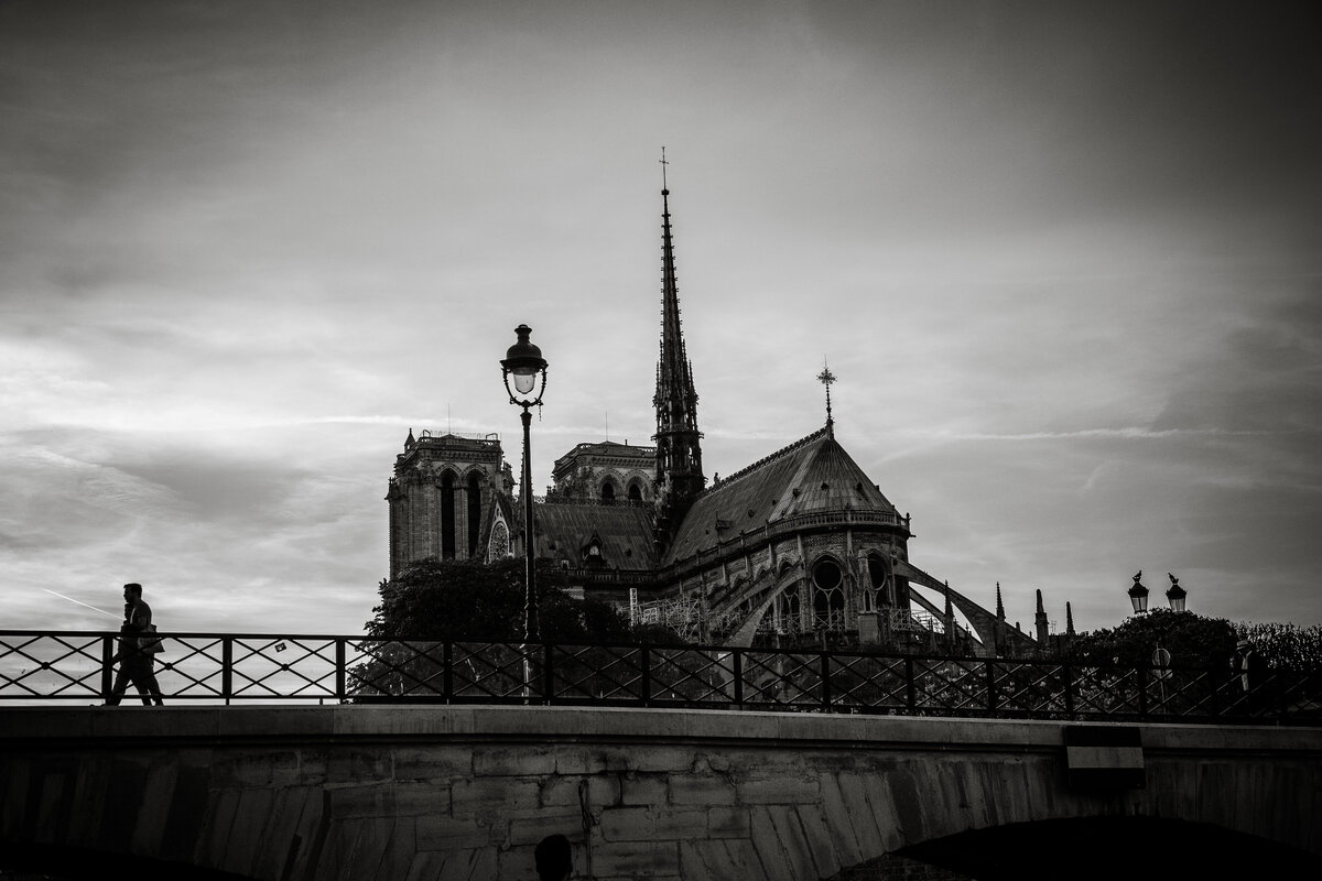 Streets of Paris BW 172