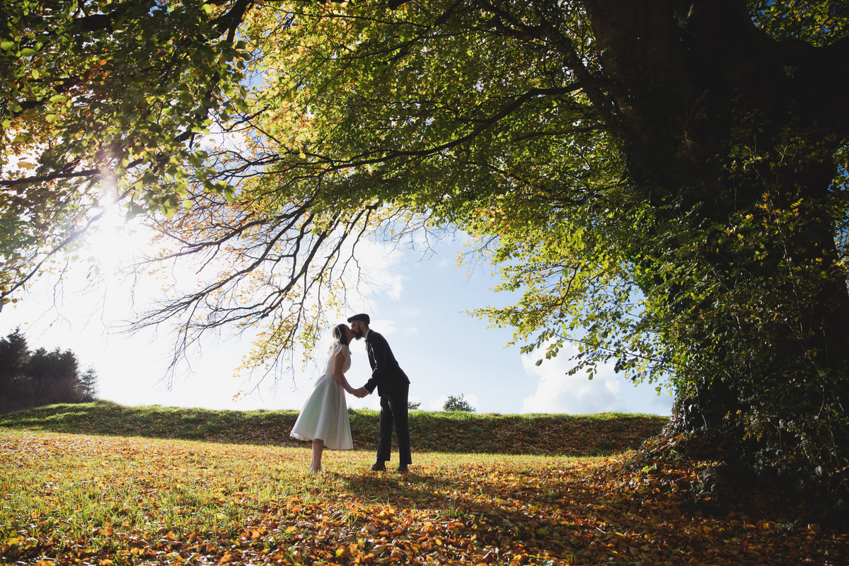october devon rural wedding