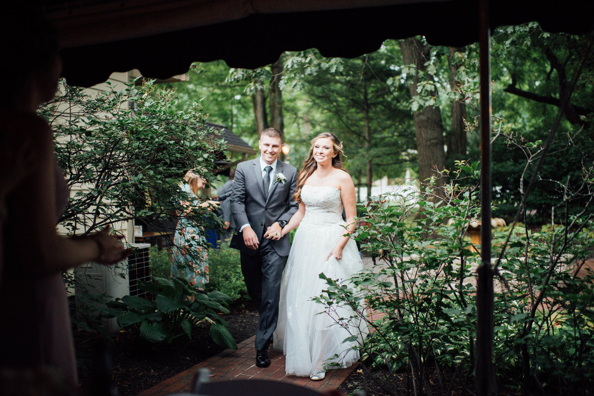 Benham's Grove wedding