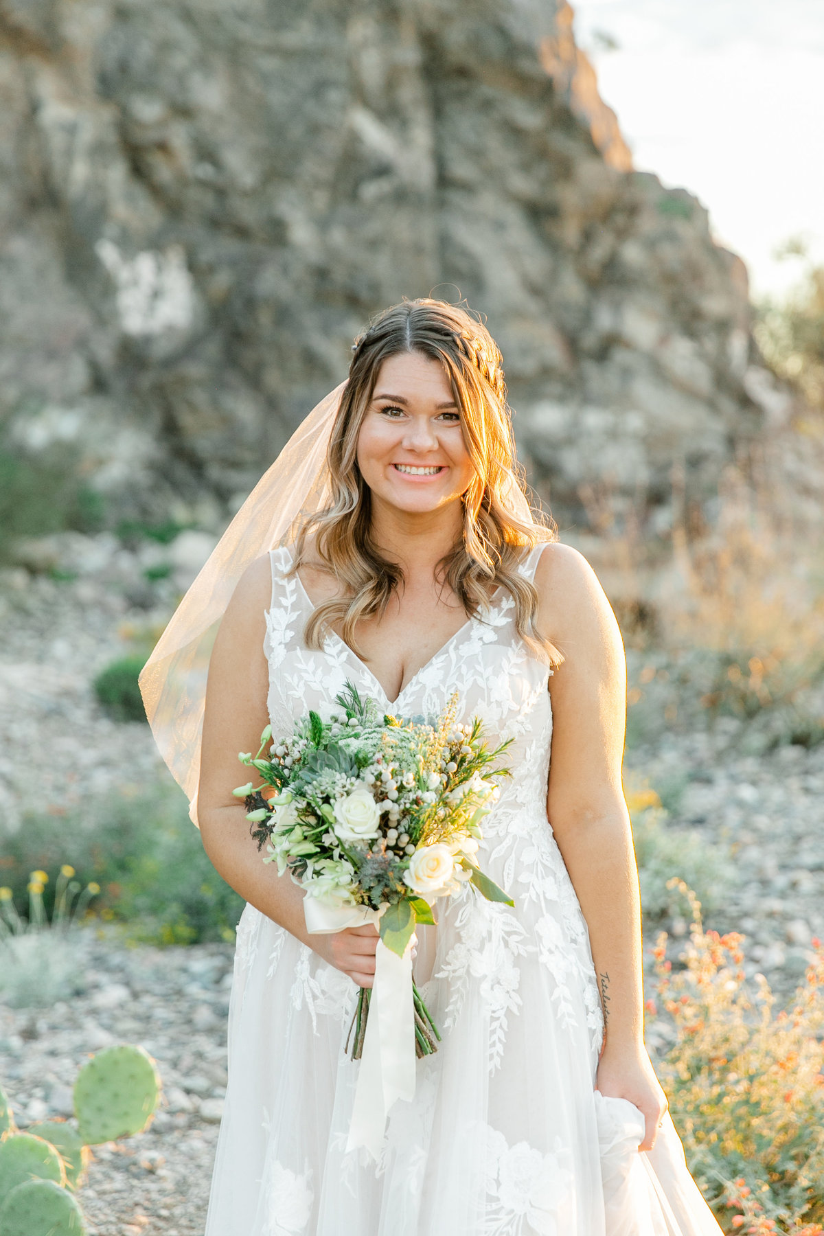 Karlie Colleen Photography - Arizona Backyard wedding - Brittney & Josh-228