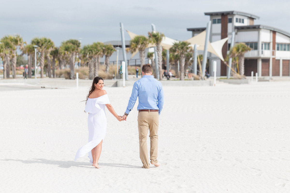 couples portrait session in gulf shores alabama by toni goodie photography