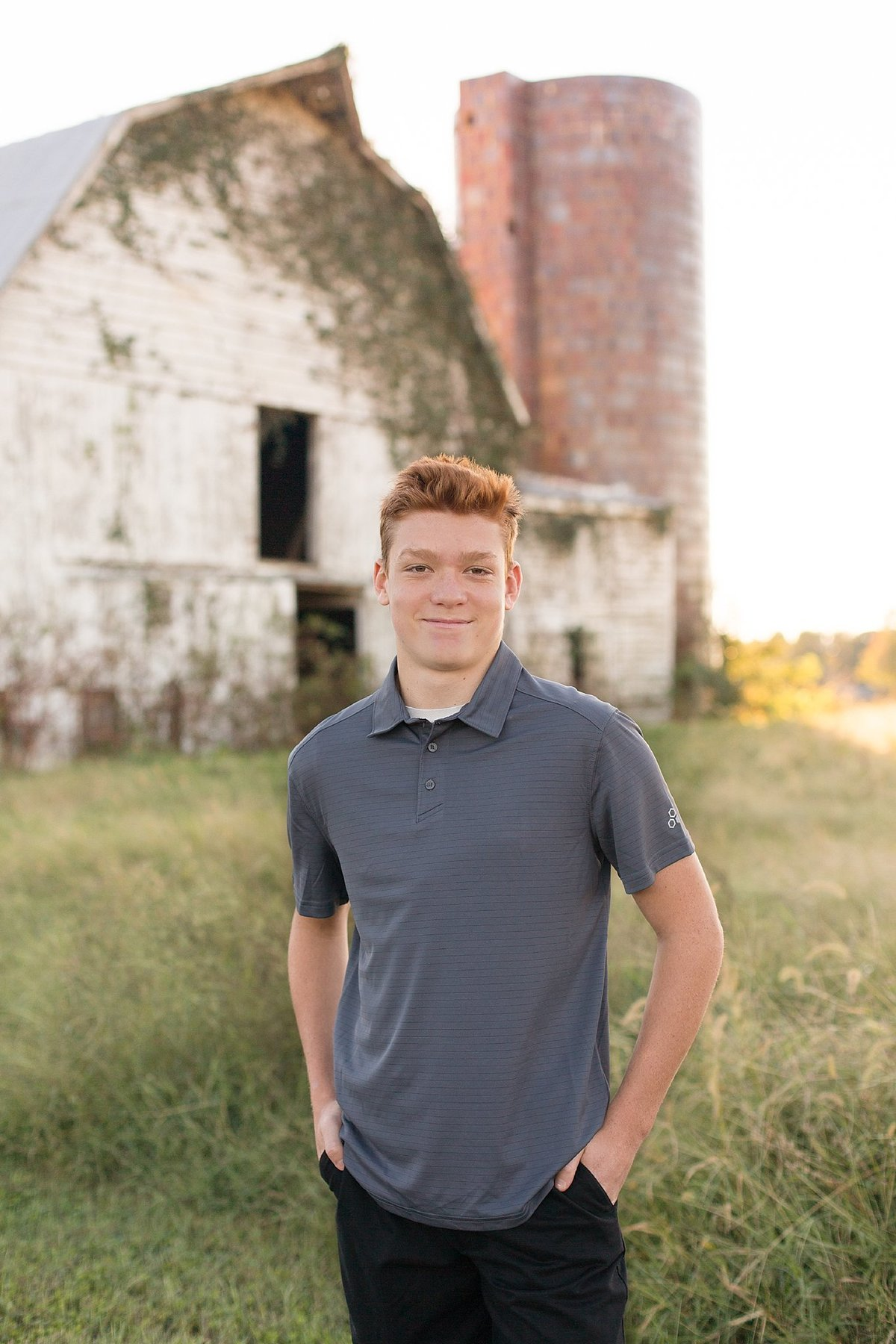 Teen boy at the Barn-029
