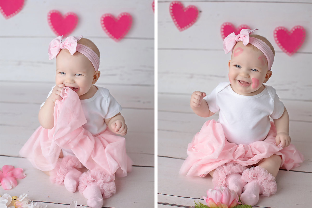 little girl valentines day pink tutu