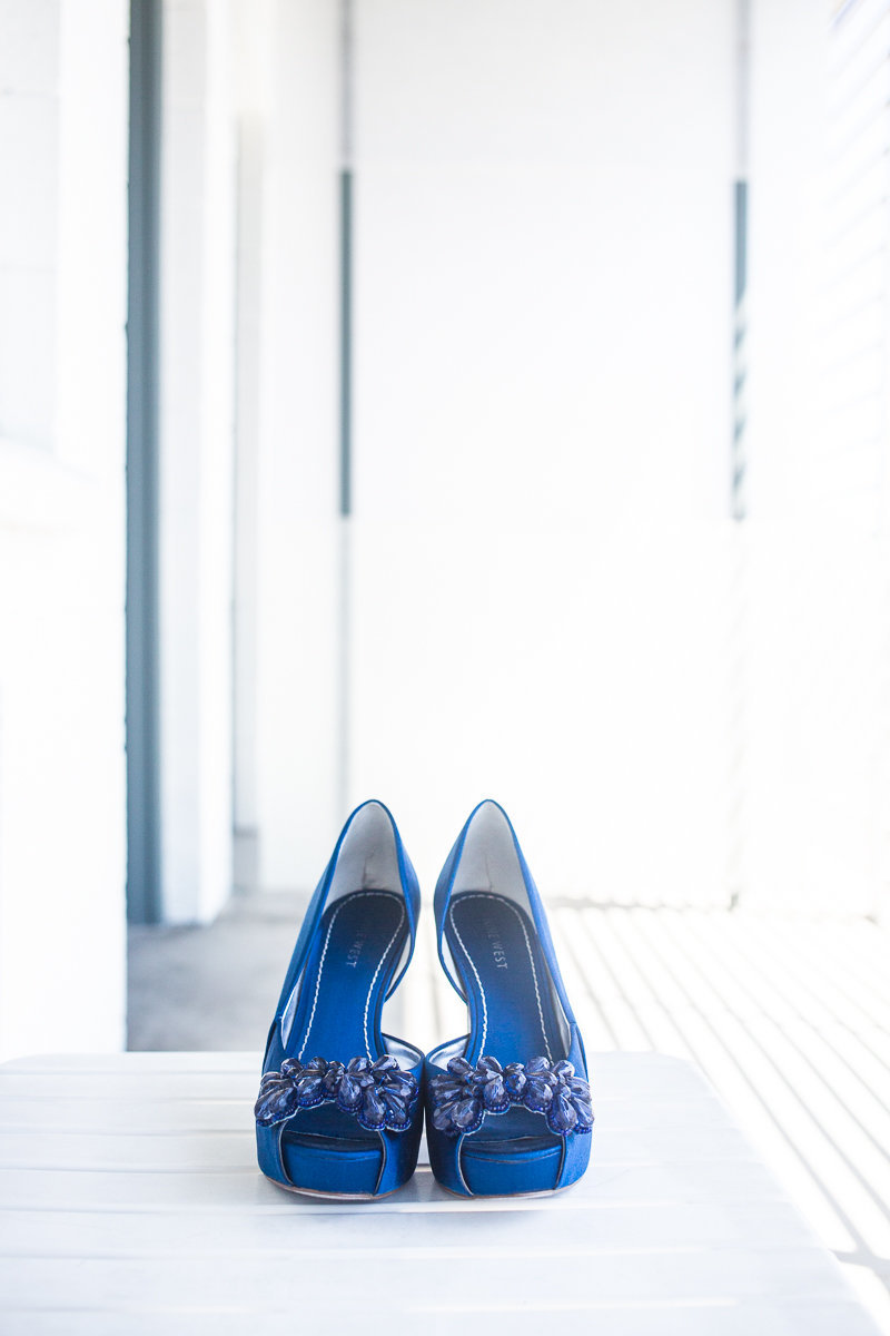 Christy+AJ-Something Blue Bridal Shoes Boise Wedding 9