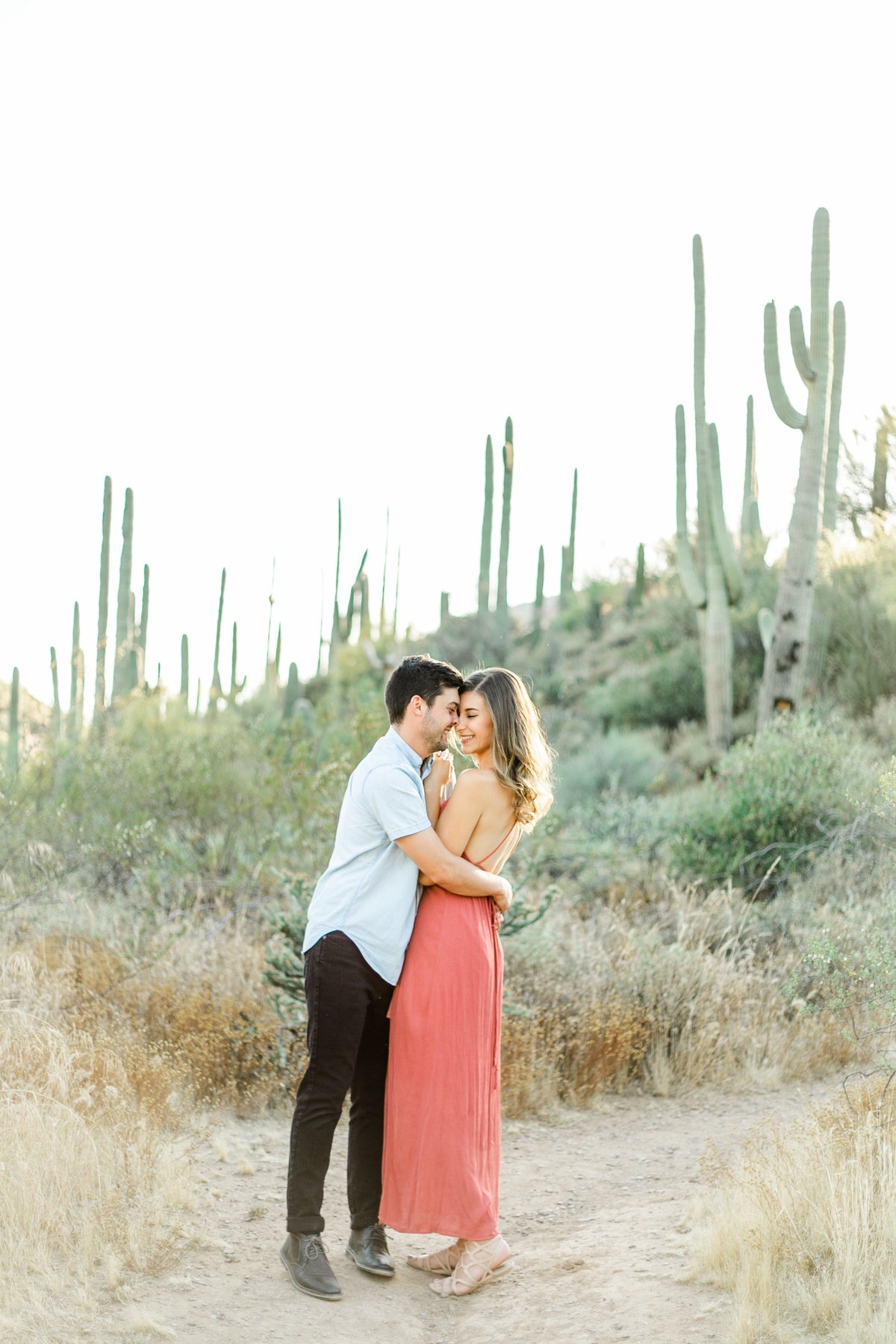 Karlie Colleen Photography - Arizona Desert Engagement - Brynne & Josh -95