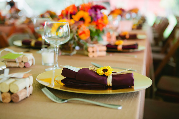 Farm home tent wedding fall rustic4
