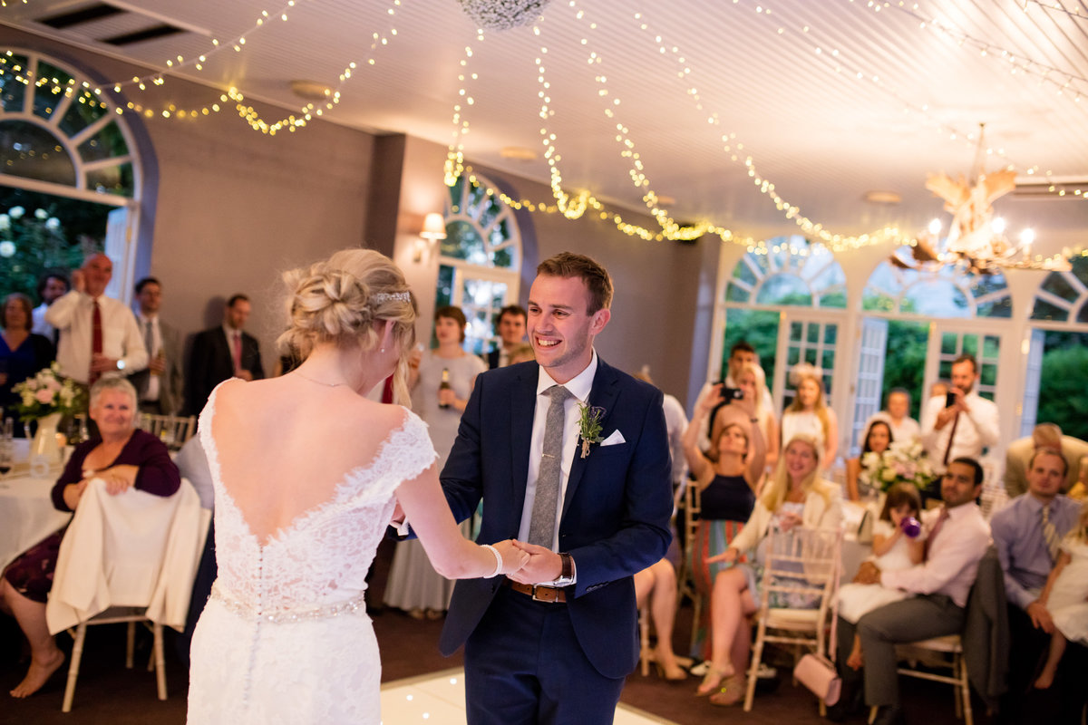 first dance at bridwell park devon