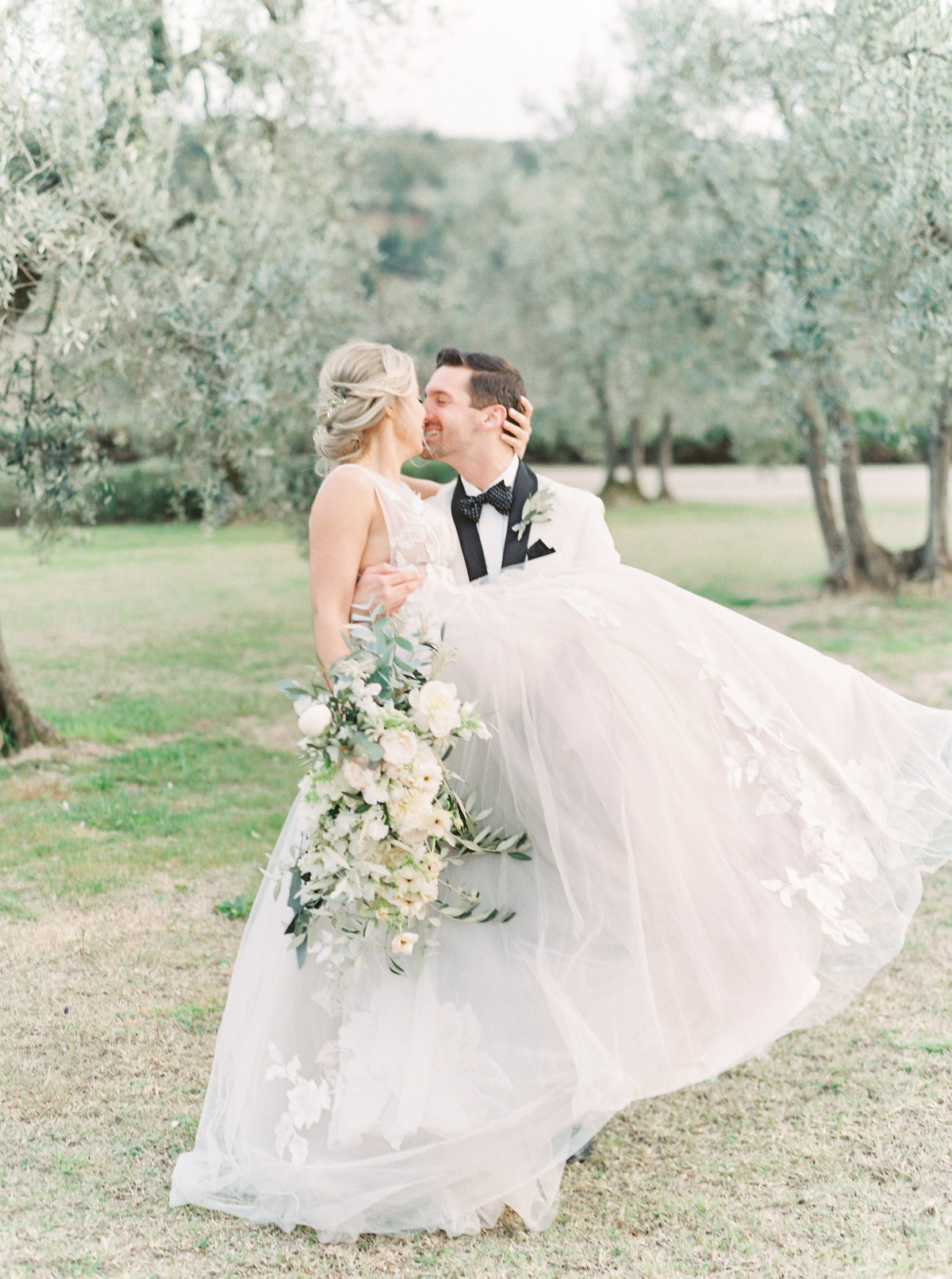 Tuscany Wedding Erica Nick - Lauren Fair Photography218