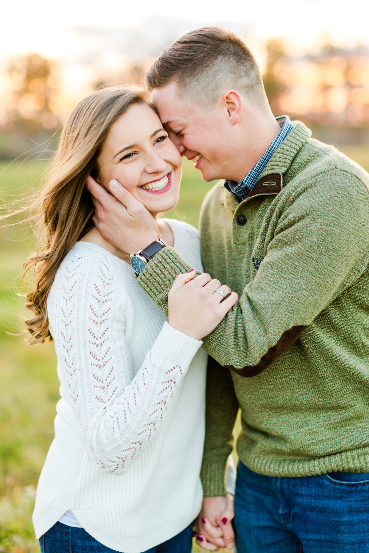 Airport Engagement Session Air Force Engagement Session at Shenandoah Valley Regional Airport in Weyers Cave, Virginia Emily Sacra Photography-70