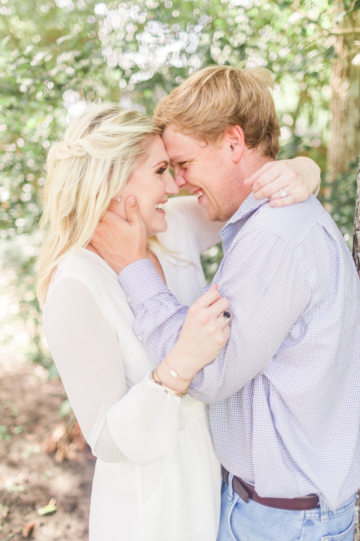 white romper engagement session outfit inspiration