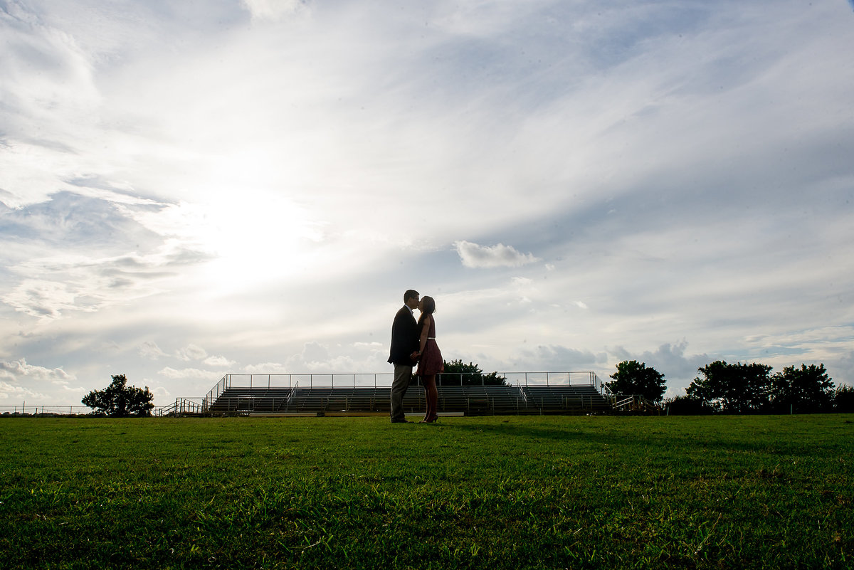 Football player engagement session